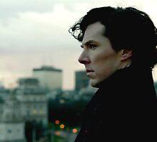 Benedict Cumberbatch as Sherlock by dcsmith