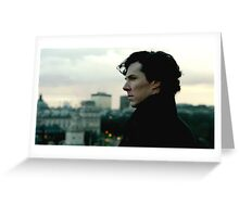 Benedict Cumberbatch as Sherlock Greeting Card