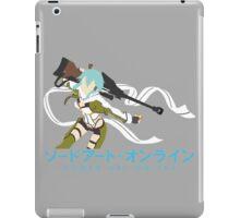 Sinon Minimalistic - Sword Art Online 2  iPad Case/Skin