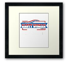 NASTY WOMEN MAKE HISTORY - NASTY WOMAN Framed Print