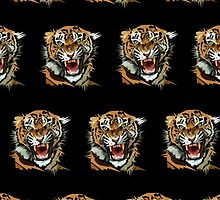 Tiger Roar (Pattern) by Adamzworld