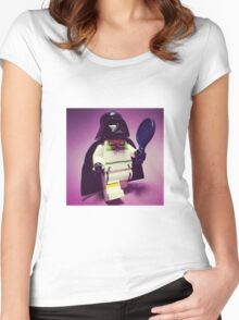 Darth Tennis Women's Fitted Scoop T-Shirt