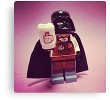 Darth Coffee Canvas Print