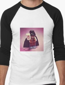 Darth Coffee Men's Baseball ¾ T-Shirt