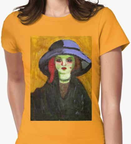 Dolly (After Kees Van Dongen) Womens Fitted T-Shirt