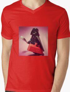 Darth Mechanic Mens V-Neck T-Shirt