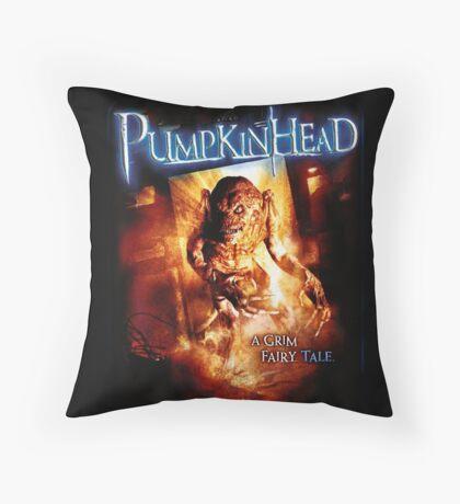 Pumpkin Head Throw Pillow