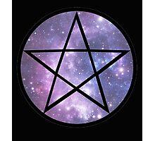 Pentagram Galaxy  Photographic Print