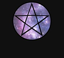 Pentagram Galaxy  Womens Fitted T-Shirt