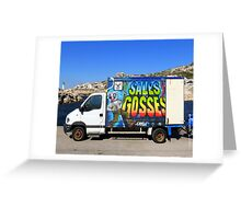 Camion tag sales gosses Greeting Card
