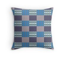Photographic Patchwork Throw Pillow