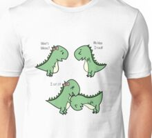 Itchy Head Dinos!  Unisex T-Shirt