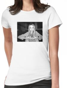 """Cara Delevingne """"Blood"""" Womens Fitted T-Shirt"""
