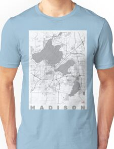 Madison Map Line Unisex T-Shirt
