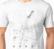 Boras Map Line Unisex T-Shirt