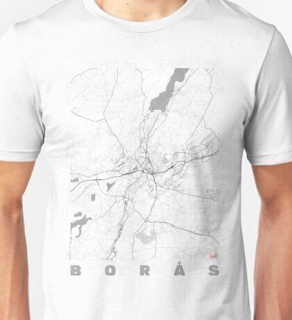 Boras Map Line Unisex T-Shirt