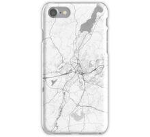 Boras Map Line iPhone Case/Skin