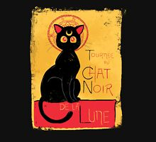 Chat Noir de la Lune - v.2.0 Womens Fitted T-Shirt