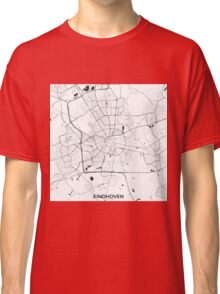 Eindhoven Map Gray Classic T-Shirt