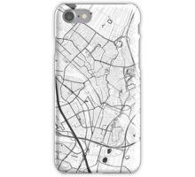 Utrecht Map Gray iPhone Case/Skin