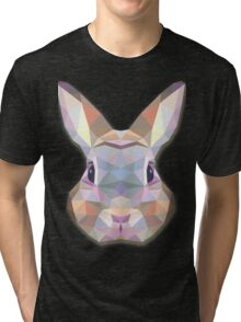 Rabbit Hare Animals Tri-blend T-Shirt