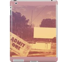 Drive-in Theater by Jan Marvin iPad Case/Skin