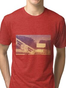 Drive-in Theater by Jan Marvin Tri-blend T-Shirt