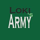Loki's Army - big LOGO by morigirl