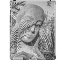 Nature's shadows shall gently mask iPad Case/Skin