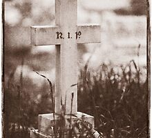 """"""" R.I.P. """"   Graveyard Adornments #39  by Malcolm Heberle"""