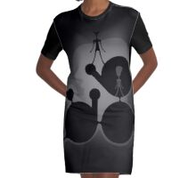Fog Graphic T-Shirt Dress