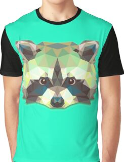 Raccoon Animals Graphic T-Shirt