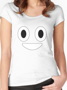 Halloween Poop Emoji Costume Women's Fitted Scoop T-Shirt
