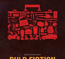 Pulp Fiction Quentin Tarantino Collage by dylanwest2010