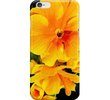 SOLD - ORANGE FLOWER ENHANCED iPhone Case/Skin