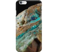 Botryoidal Chrysocolla with Azurite and Malachite iPhone Case/Skin