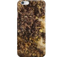 Brown Calcite Moss iPhone Case/Skin