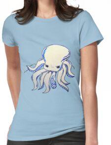 Little Blue Octopus  Womens Fitted T-Shirt
