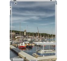 Large yacht club iPad Case/Skin