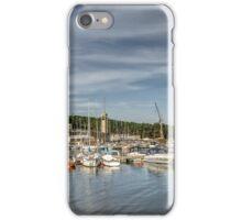Yacht club in autumd iPhone Case/Skin