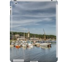 Yacht club in autumd iPad Case/Skin
