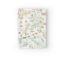 Hamburg Map Hardcover Journal