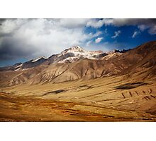 The Mountains of Kyrgyzstan  Photographic Print