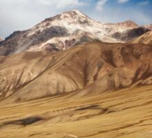 The Mountains of Kyrgyzstan  Sticker