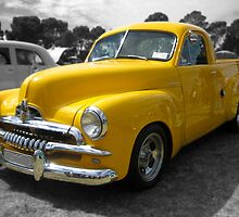 Yellow Holden FJ Utility by Ferenghi
