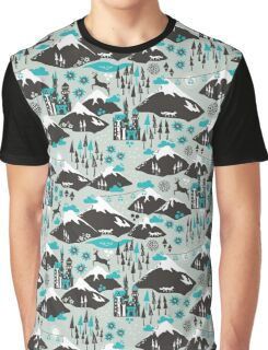 The Alps Graphic T-Shirt