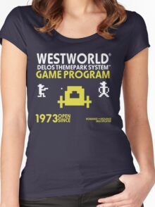 Outlaw Westworld Women's Fitted Scoop T-Shirt