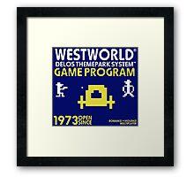 Outlaw Westworld Framed Print