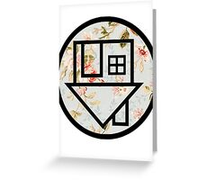 The Neighbourhood (Floral Background) Greeting Card