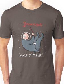 Bruckner, Gravity Music Unisex T-Shirt